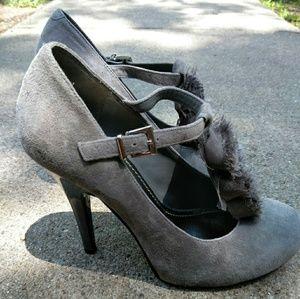 Gianni Bini Gray Heels